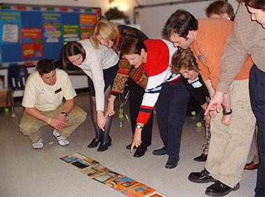 teachers, fun team building, fun team building with Larry Lipman
